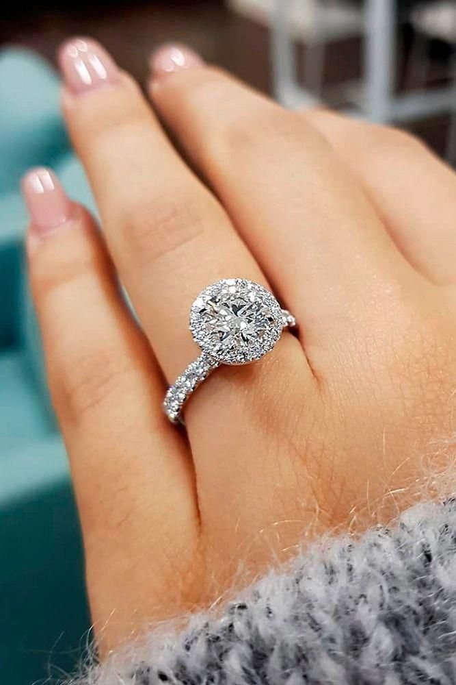 Baguette Wedding Ring 14k Gold Round And Baguette Diamond