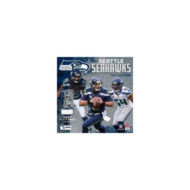 Seattle Seahawks 2017 Calendar (Paperback)