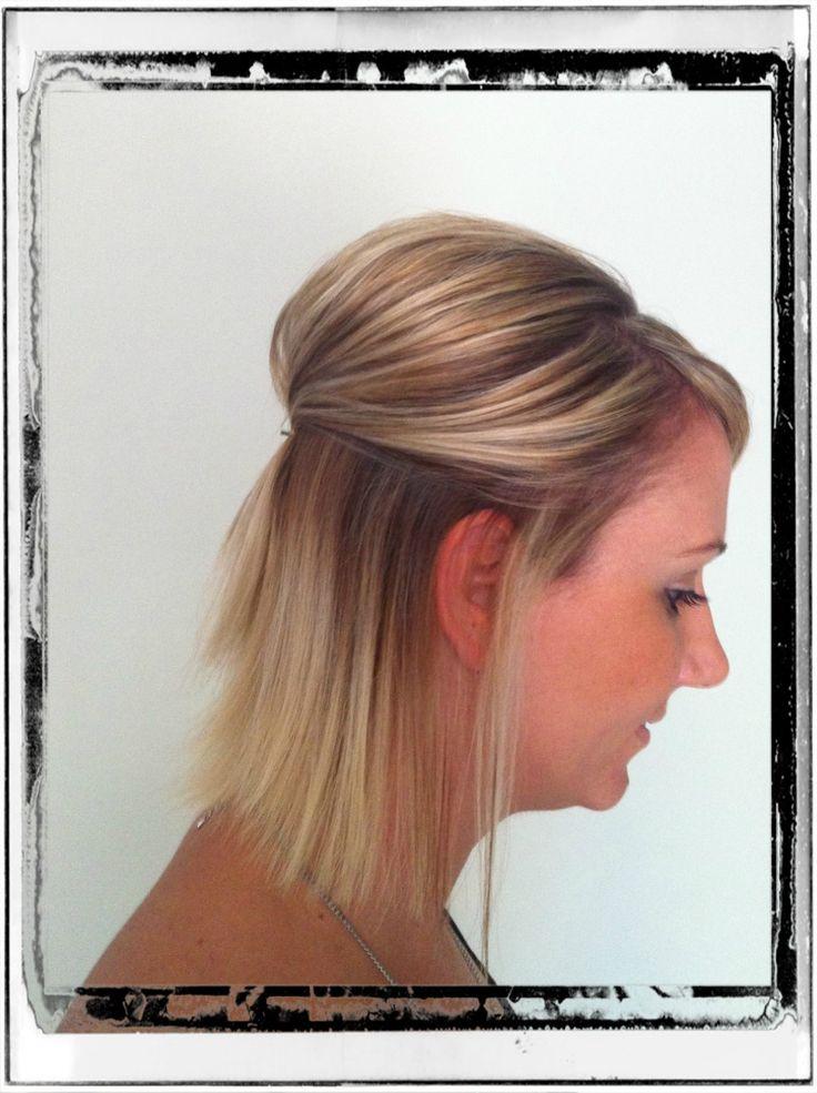 Hair styling by - Renae Tupper @ Hair By Renae Half up/short
