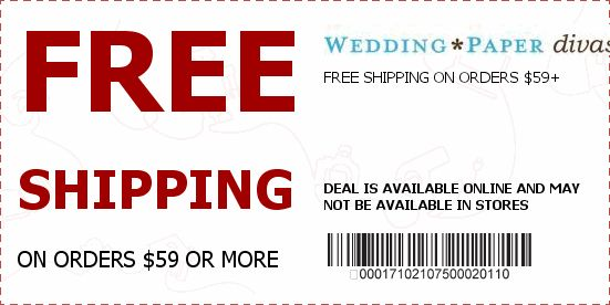 Wedding Paper Diva Coupons