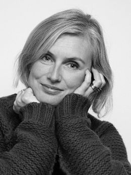 the designer herself; Ann-Carin Wiktorsson