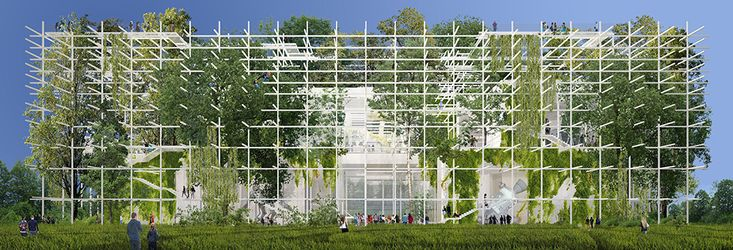 Gallery of Sustainable Proposal Envisions Krakow's New Science Center as a Tiered Garden - 21