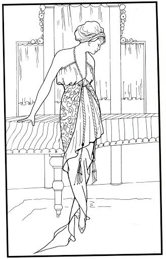 245 best images about Fashion Coloring Pages for Adults on ...