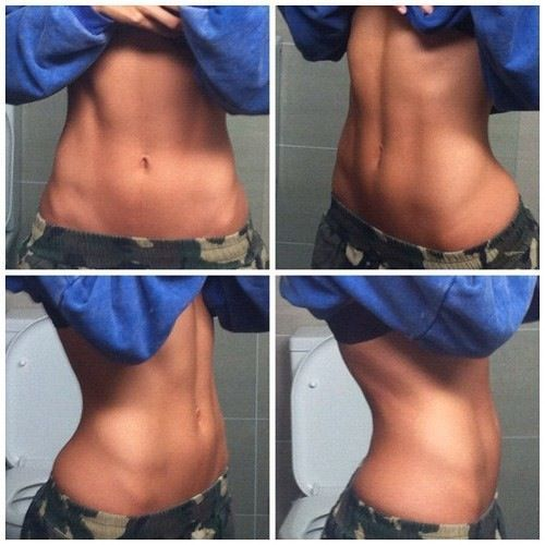 How to lose the tummy pooch in 4 weeks.