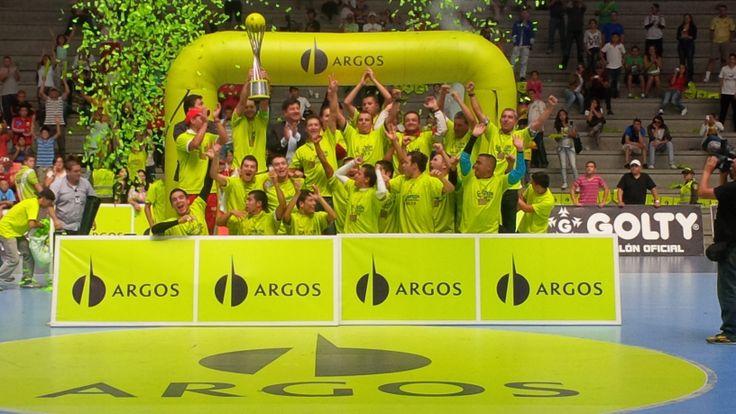 Por primera vez en la historia, Rionegro Futsal se corona campeón de la Liga. ¡A toda la institución mil felicitaciones!