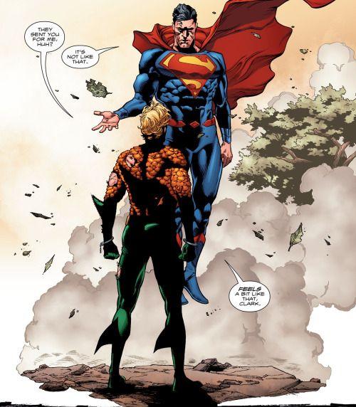 Superman in Aquaman #6