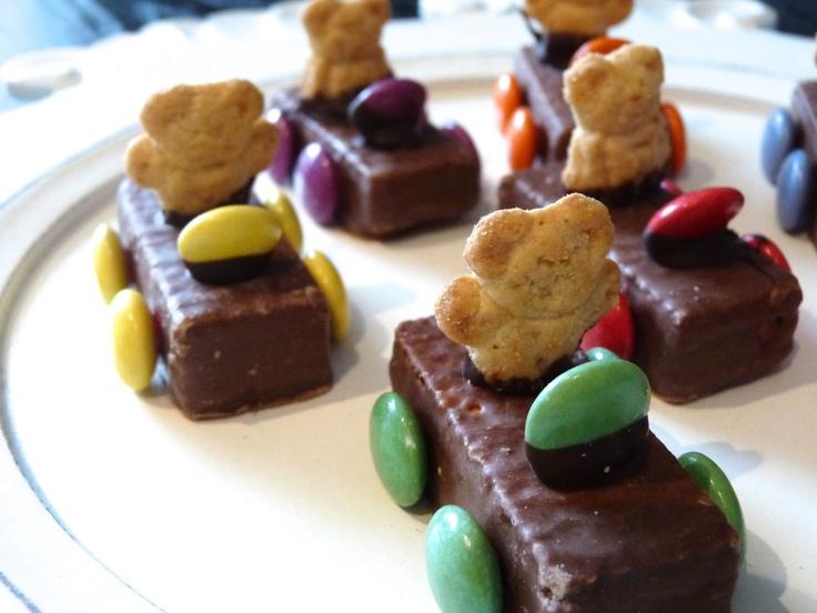 Bears Driving Chocolate Cars
