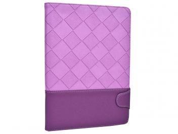 Capa para iPad Air Couro Roxo Diamond - Geonav