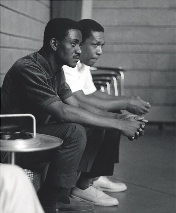 Pharoah Sanders and John Coltrane