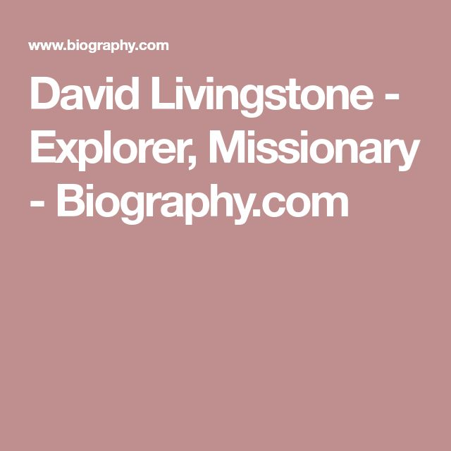 David Livingstone On Pinterest Mission Quotes, Compassion   Livingstone I  Presume Stanley  Dr Livingstone I Presume Accessories