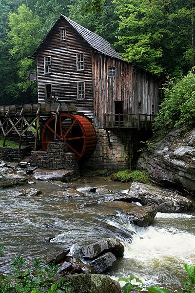 Old Mills in West Virginia | Image by: Sondra Kicklighter