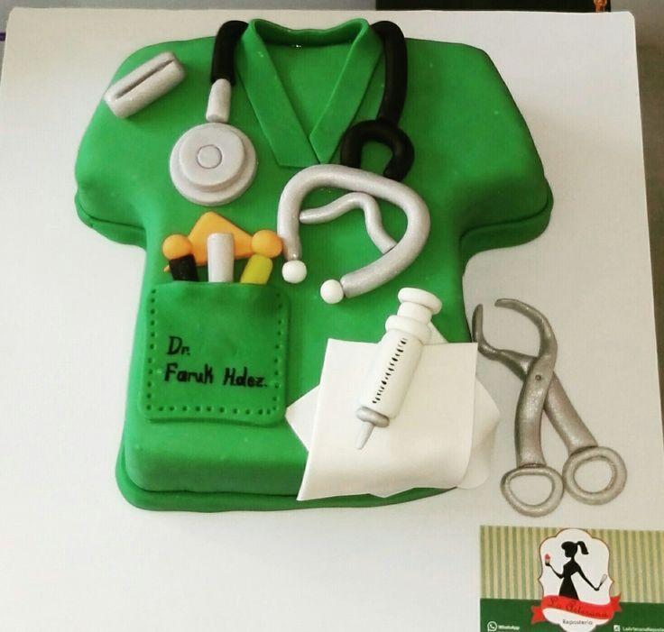 Torta bata medico ! #cirujano.