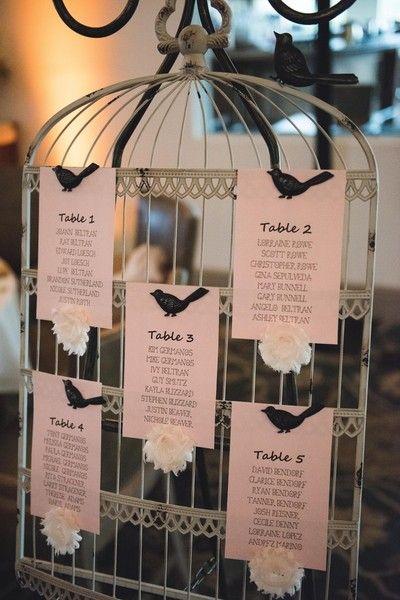 Lovebird-Themed California Wedding on WeddingWire