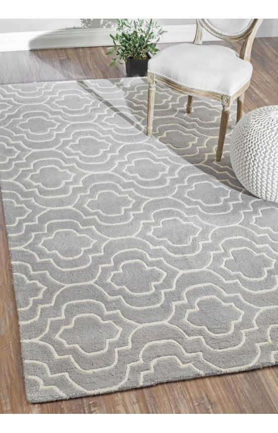 Rugs USA Savanna Moroccan Trellis VE24 Grey Rug