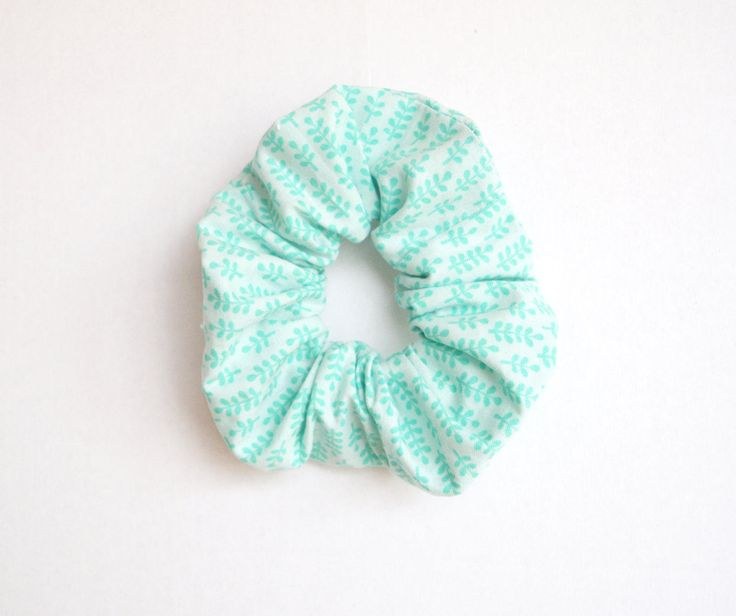 Scrunchie pour cheveux - Chouchou pour cheveux - Élastique en tissu pour cheveux - accessoires coiffure - scrunchie en coton - de la boutique BobineDePoupee sur Etsy