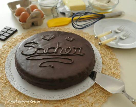 Torta Sacher ricetta originale | Nonsolodolce di Lorena