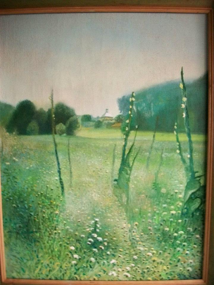Dziewanny, obraz olejny na płótnie, oil on canvas by Leszek Gesiorski
