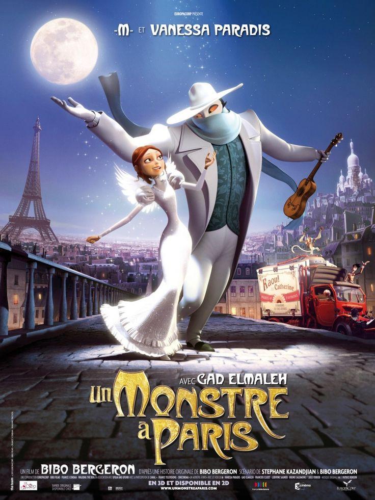 Монстр в Париже (Un monstre à Paris)   Детские фильмы ...