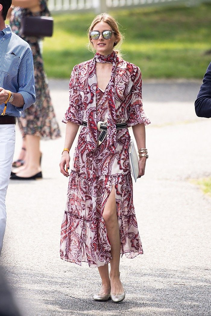 How to Wear Flats Every Single Day Like Olivia Palermo via @WhoWhatWearUK