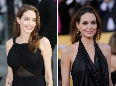 E Breast Implants Before And After Angelina Jolie Double ...