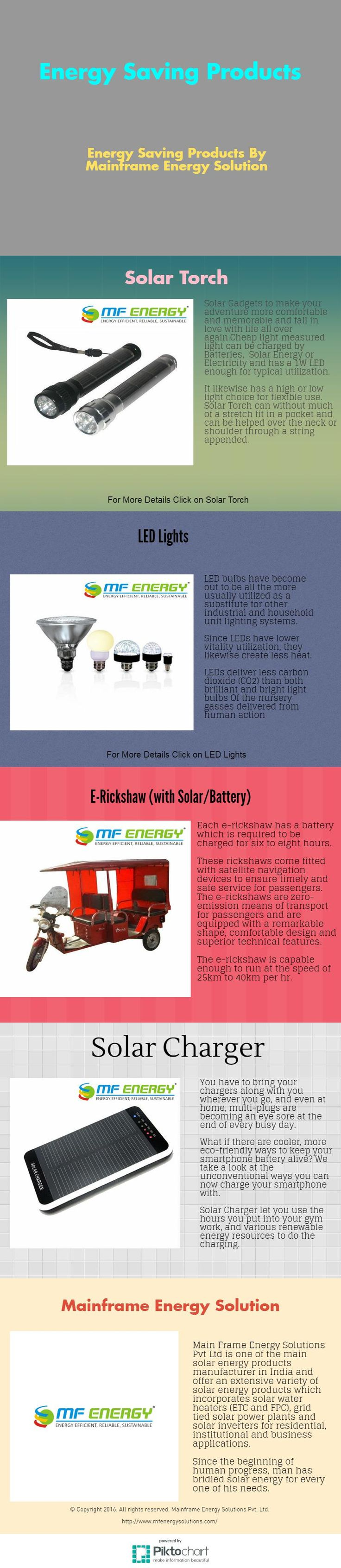 Energy saving products to help you to preserve and create energy.We have bunches of approaches in the form of energy saving products http://www.mfenergysolutions.com/