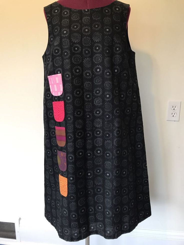 NWOT MARIMEKKO Kihlatasku Womens Pocket Dress Size 40 US 12 Made In Estonia #Marimekko #Shift