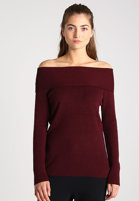 Esprit Maglione - bordeaux red - Zalando.it