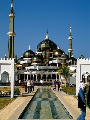 CRYSTAL MOSQUE - TERENGGANU bY ATTAiSM ATELIER DIA TRAVEL DURING ARKIPUTRA TRIP