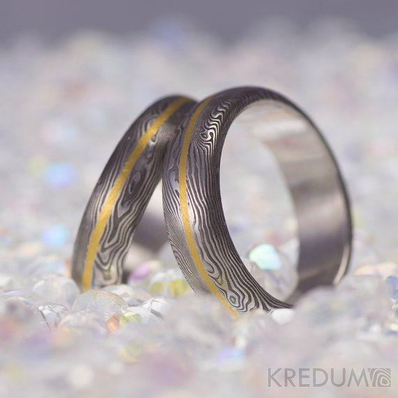 Custom Wedding Ring Womens Band Mens Hand Forged By KREDUM