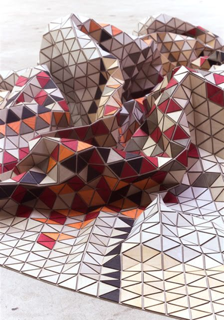 MATERIALS Elisa Strozyk's wooden textiles