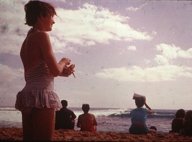 Makaha Beach, 1959