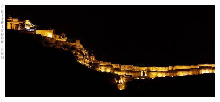 Light And Sound Show At Kumbhalgarh Fort, Rajasthan