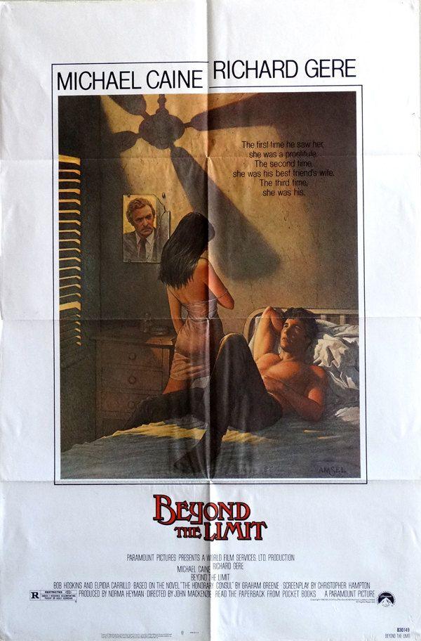 Beyond The Limit Original Us 1983 27 X 41 Theater Movie -7919