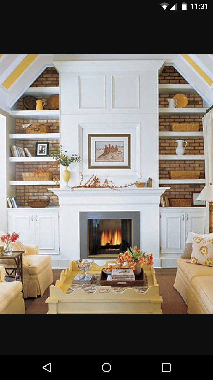12 Best Colors The Compliment Red Brick Fireplaces Images