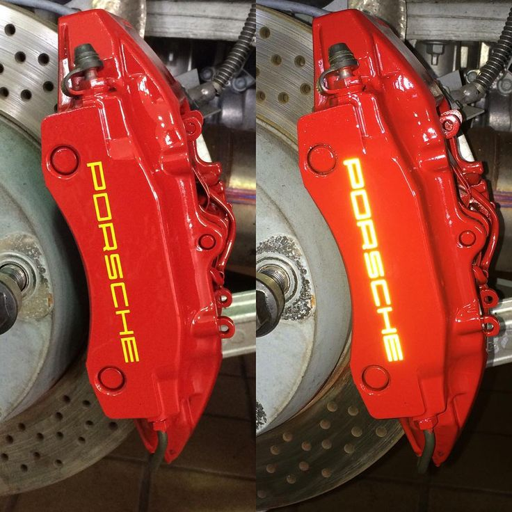 Porsche Boxster Engine Braking: Porsche Boxster Custom Painted Calipers With Yellow
