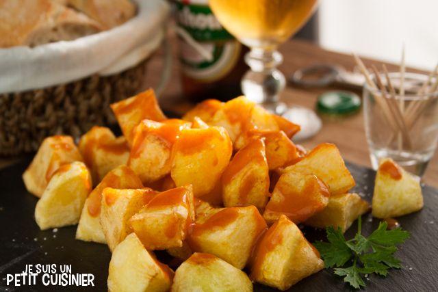 Recette de patates braves (patatas bravas). Tapas espagnoles.