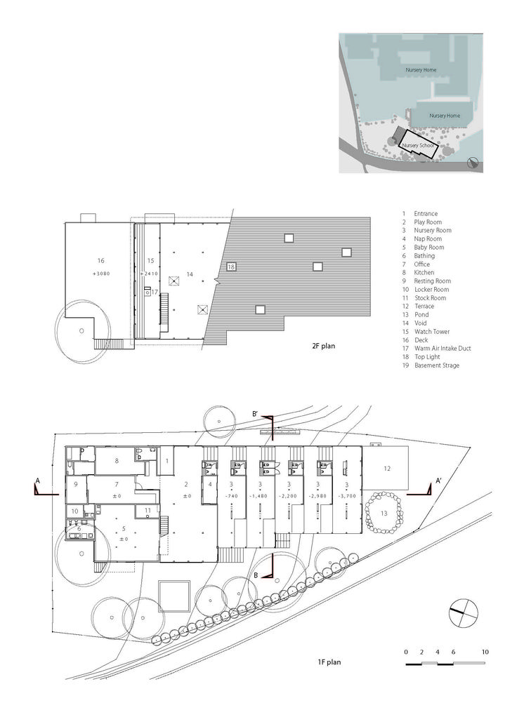 Gallery   Hakusui Nursery School / Yamazaki Kentaro Design Workshop   13