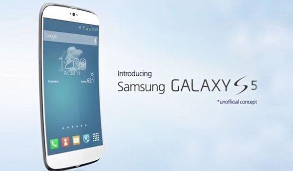 Samsung Galaxy S5 unique curved design envisioned