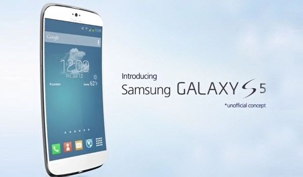 Samsung Galaxy S5 unique curved design envisioned