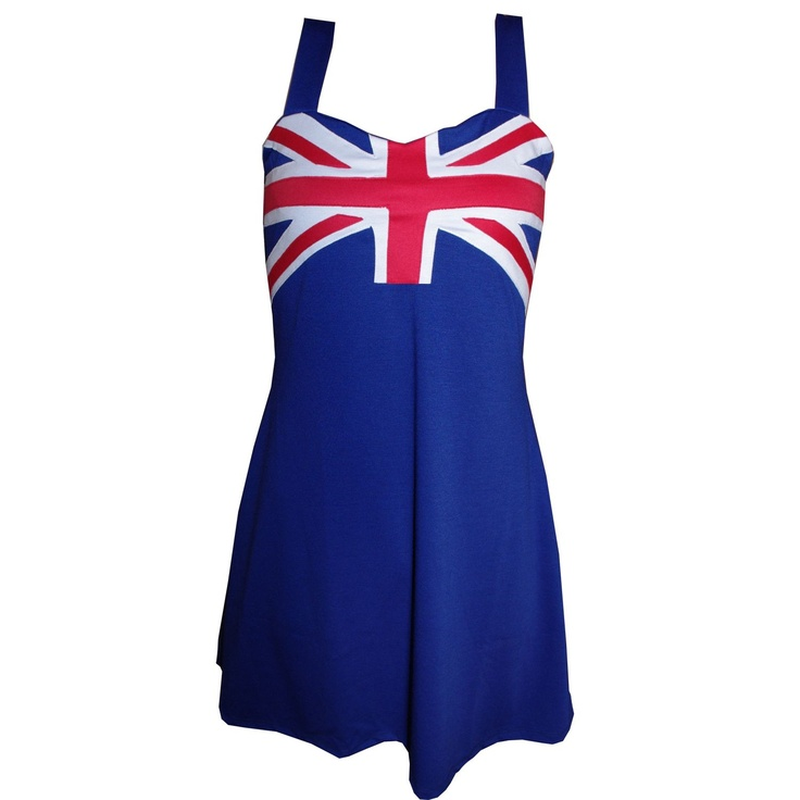 Play.com - Buy Flag Rags Women's The Union Jack Trapeze Dress (Multi) online at Play.com and read reviews. Free delivery to UK and Europe!