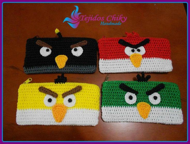CARTUCHERA DE ANGRY BIRDS