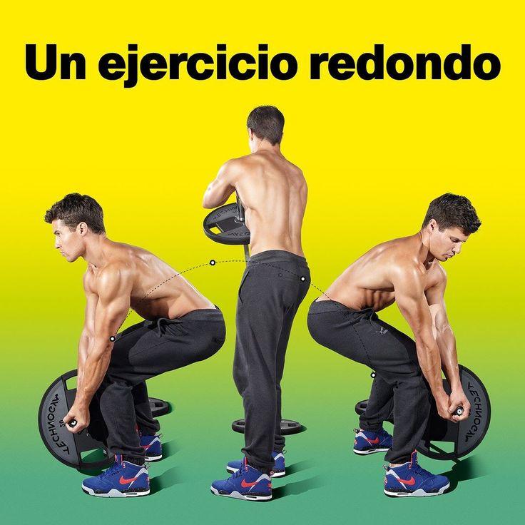 Quieres quemar grasa? Este es un ejercicio redondo para tu core y six-pack!  Los ejercicios de abdominales están bien pero no sirven de nada si antes no te has deshecho de la capita de grasa. Este ejercicio es lo que necesitas. Estimula todo el cuerpo y además tiene un componente metabólico. Al involucrar más músculos y añadir movimiento el efecto quemagrasas es muy superior al de otros ejercicios abdominales. Este ejercicio aumenta la estabilidad del core y ayuda a ponerte en forma.  1…