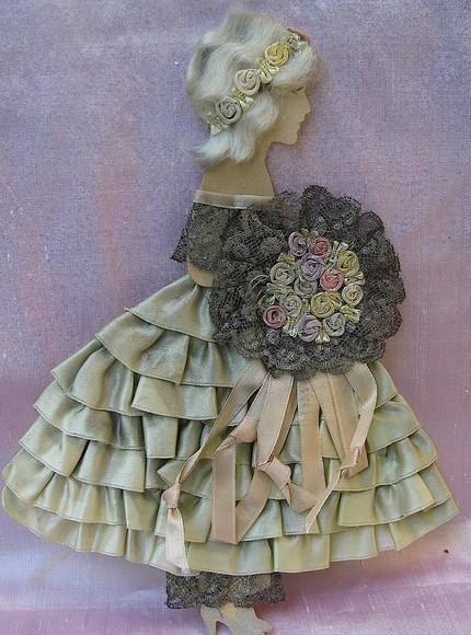 Ribbonwork Doll