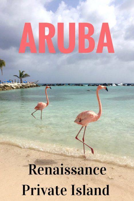 Enjoy a day of luxury in a private cabana on Renaissance Aruba Private Island #Aruba #Caribbean