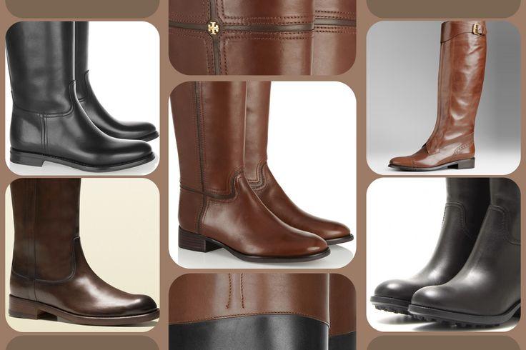 """Riding boots, i classici """"da cavallerizza"""" http://www.grazia.it/moda/tendenze-moda/stivali-stivaletti-autunno-inverno-2013-2014-biker-boots"""