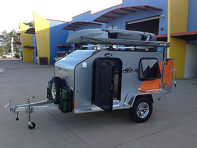 brand new cargolite aluminium camper trailer tow with small car or 4wd - Tiny Camping Trailers
