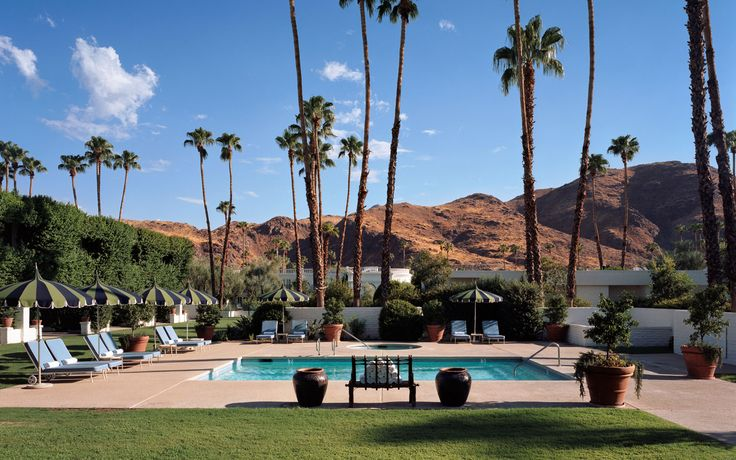 Parker Palm Springs.  Designed by Jonathan Adler.  You have to check out this website and the concept and I have to go here one day!