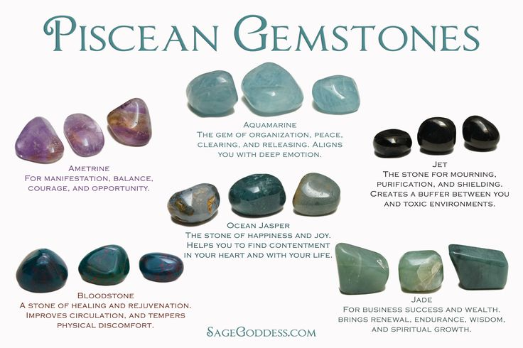 Do you know what your #Piscean gemstones are? You may be ...