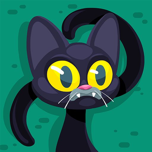 Custom Agar.io Skin Black Cat