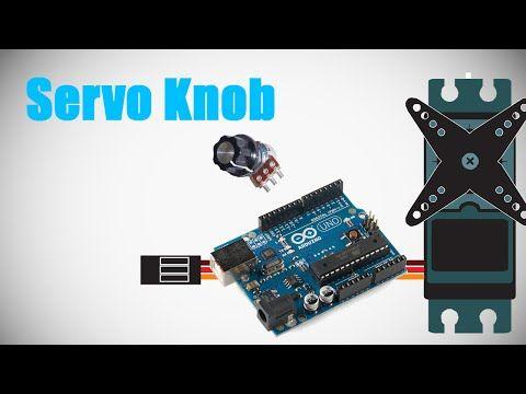 Programming Arduino - Lesson 5 - Servo Potentiometer - YouTube